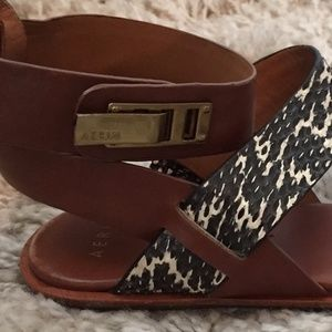 Aerin Shoes - Aerin Sienna Snakeskin Strap Sandal from Nordstrom