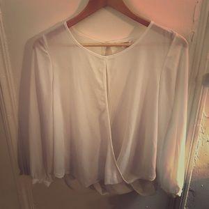 Size S White Sans Souci Blouse