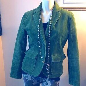 Jones New York Jackets & Coats - Jones NY Green Corduroy Blazer