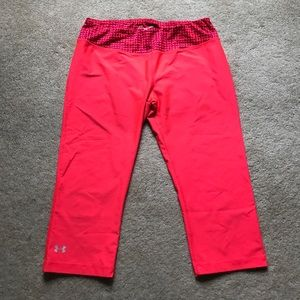 Under Armor Fitted Capri Workout Pants