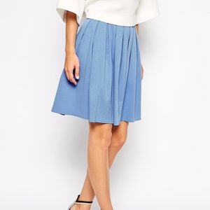 ASOS Full Skater Skirt in Ponte US Size 4