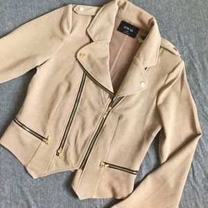 Zip Up Moto Jacket