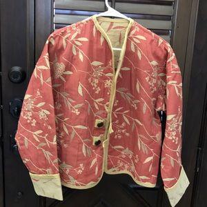 Jackets & Blazers - Oriental Style Embroidered Blazer/Jacket