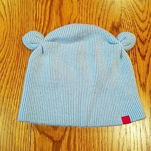 Other - Light blue beanie with ears
