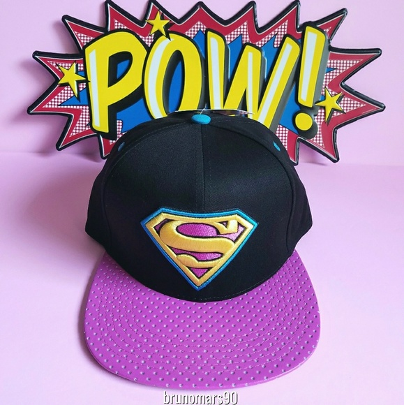 ✨HP✨ DC Comics Superman Snapback Hat c3860112b62d