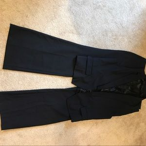 Gap Pinstripe Navy Blue Suit, Vest and Pants