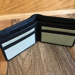 Mens Wallet Bifold Handmade Leather Men Blck Purse
