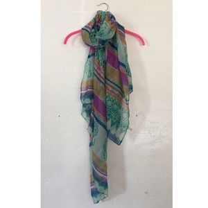 Accessories - Bohemian Boho Large Colorful Scarve Scarf