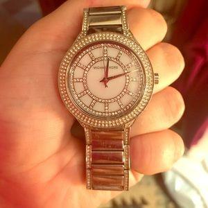 Jewelry - Michael Kors Kerri Silver Watch