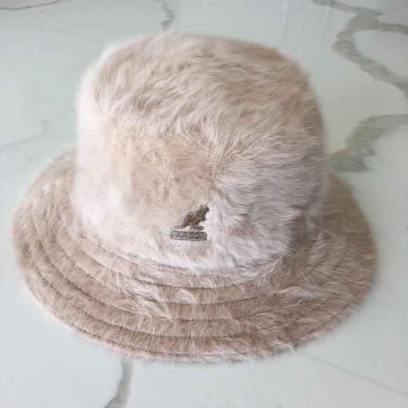 a7e5fa9e37f98 Kangol Other - KANGOL ~ vintage brown angora wool bucket hat
