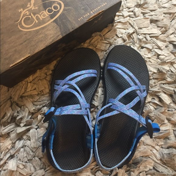 1eabe75f4a7 Chaco Shoes - NIB Chacos ZX1 classic sandal blue WIDE