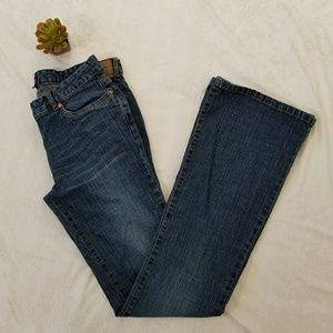 BCBGMaxAzria Dk. Wash Bootcut Jeans