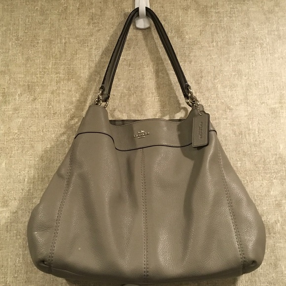 Coach Handbags - LEXY SHOULDER BAG IN PEBBLE LEATHER (COACH F57545) 351cc61854b0e