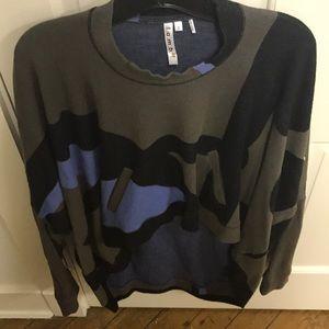 L.A.M.B high low sweater