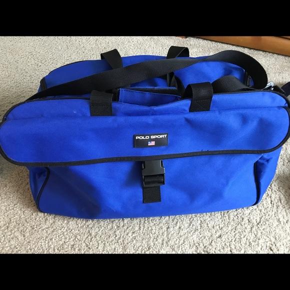 Sport Polo Duffel Bag Men's Blue 0wOknP