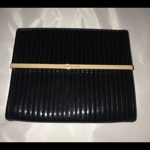 Ted Baker Kirah Clutch Quilted Enamel