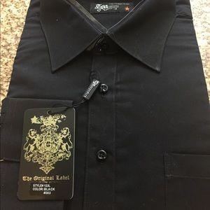 Other - Men dressy shirt long sleeve 18 1/2 XXL 34/35