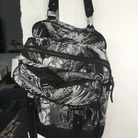 5107df5080 Ed Hardy Handbags - Ed Hardy Classic Bag w  spray cologne