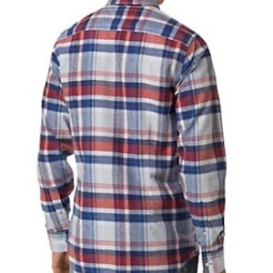 Tommy Hilfiger Red Blue Plaid Shirt NWT $79