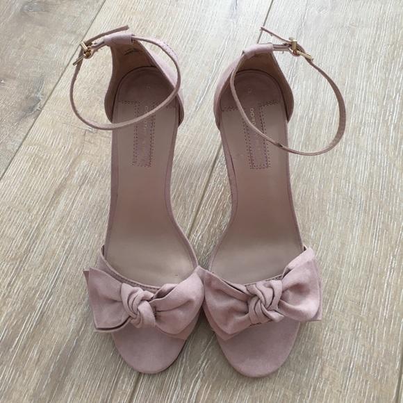 Dorothy Perkins Blush Pink Bow Sandals