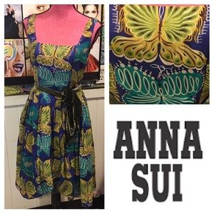 Funky ANNA SUI s4 butterfly 🦋 DRESS 😍