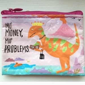 "Accessories - ""Mo' Money, Mo' Problems"" Coin Purse NWOT"