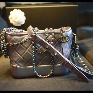0e911b146ccab5 CHANEL Bags | Unicorn Gabrielle Iridescent Purple Rainbow | Poshmark