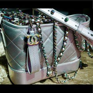 7131f8615d09 CHANEL Bags | Unicorn Gabrielle Iridescent Purple Rainbow | Poshmark
