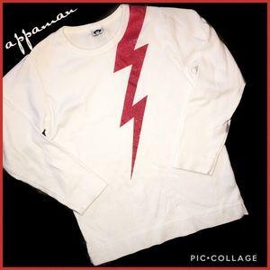 appaman Boy's Lightening Bolt Shirt Size 8