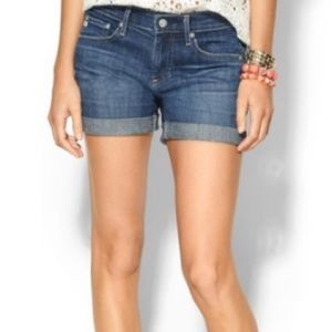 AG The Hailey Ex-Boyfriend Roll-Up Jean Shorts!