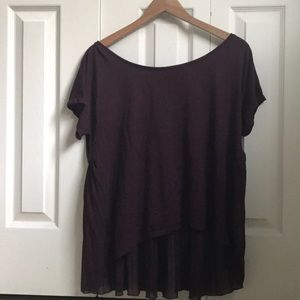 American Eagle Happy Hour t. Size large