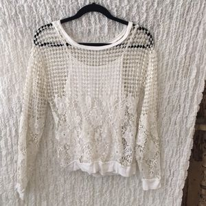 Perfect condition Ella Moss girls white top