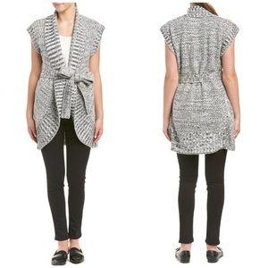 Minkpink Tie Waist Short Sleeve Cardigan