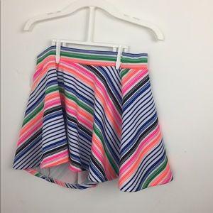 Rainbow short skirt