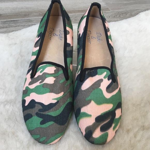8fb141723b0 Duke & Dexter womens Sultry Camo slip on loafers