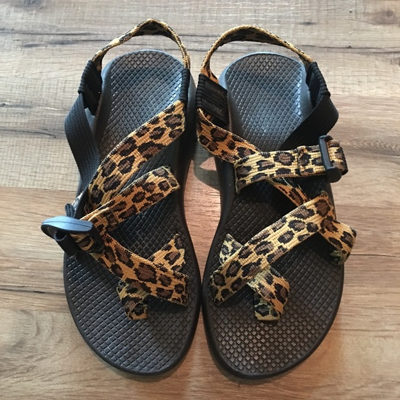 Chaco Shoes | Leopard Chaco Z2 Classic