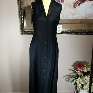 Emma James Black Midi Dress