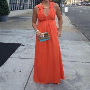 Susana Monaco long dress.