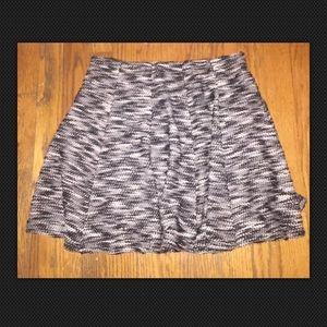 NWT Hollister Marbled Boucle Skater Skirt Size M