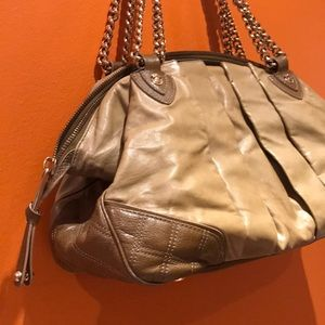 $1200Marc Jacobs Couture Leather Large Satchel Bag