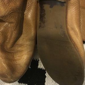 Banana Republic Shoes - Banana Republic tan leather shaft riding boots