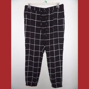 Merona Black Jogger Pants