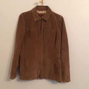 Luxury Tan All Suede Eddie Bauer Jacker