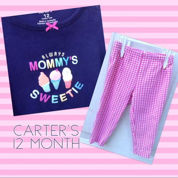 Carter's 2 Piece Mommy's Sweetie