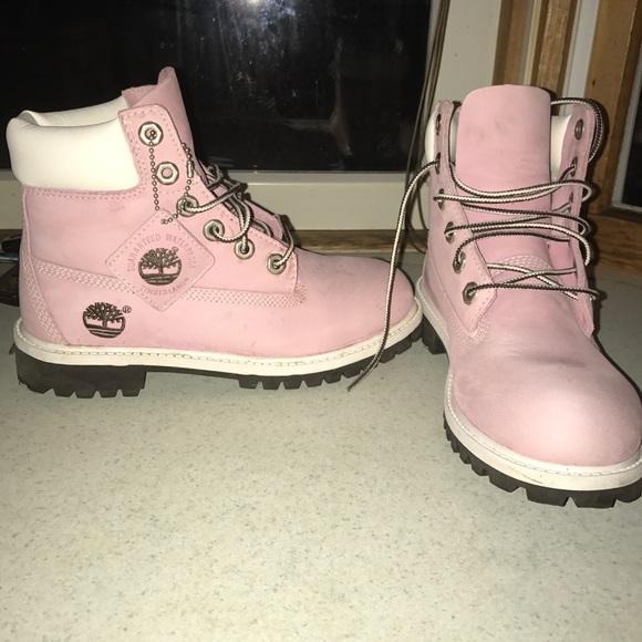 m timberland poshmark waterproof light listing pink timberlands shoes boots s