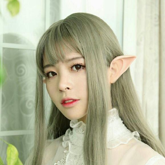 SALE!Fairy Pixie Elf Ears Prosthetic Tips Reusable Boutique