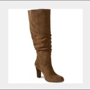 Banana Republic Bianca brown slouch boot