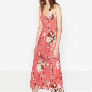 Zara printed camisole dress, size XS
