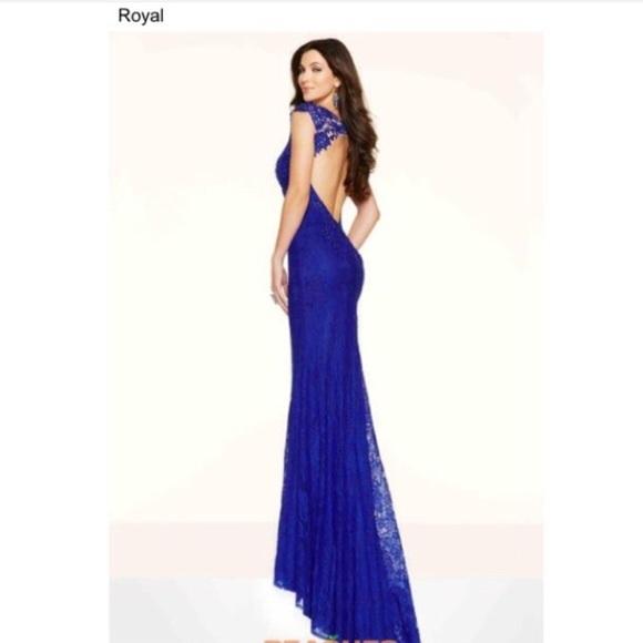 Peaches Dresses | Royal Blue Prom Dress | Poshmark