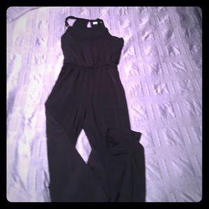 NWOT NY&C black 1-piece jumpsuit